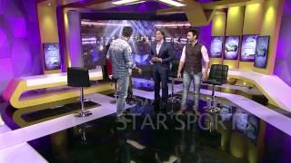 Hrithik Roshan teaches the Bang Bang Step to Rj Anmol Shoaib Akhtar Kathrina Kaif