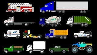Trucks - Street, Sports, Emergency & Construction Vehicles - The Kids