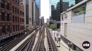 CTA Ride the Rails: Pink Line in Real Time