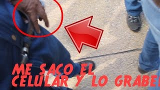 ME ROBAN EL CELULAR Y LO GRABE TODO! - ROBO CAPTADO EN VIDEO - 100% REAL
