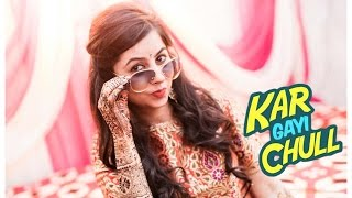 Best Indian wedding lip dub video - Kar gyi chull