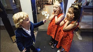 Tydus Takes EVERLEIGH AND AVA On A DATE!!
