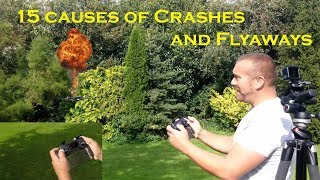 15 Causes of Drone Crashes and Flyaways - Avoid crashing your drone