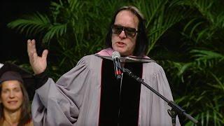 Todd Rundgren - Berklee Commencement Address 2017