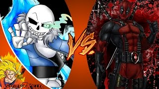 SANS vs DEADPOOL! (Undertale vs Marvel ) Cartoon Fight Club Episode 132 REACTION!!!