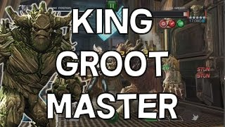 King Groot Master Mode - 3 Star Challenge - Marvel Contest Of Champions