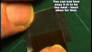 SPLICE A TORN/SNAPPED FLEXIBOARD/RIBBON CABLE