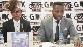 """Álbum """"Confronto de Titãs"""", de Kid MC e Dji Tafinha, Em conferência de imprensa"""