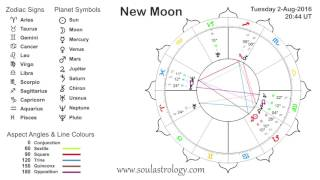 Soul Astrology   Leo New Moon 2 August 2016