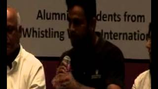 Senior Editing student Raghu Naik on Whistling Woods