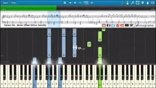 SANAM RE Arijit Singh    Piano Tutorial + Music Sheet + MIDI with Lyrics