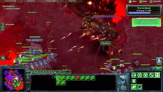 Starcraft 2 WoL Brutal Campaign - All in (vs air) [2/2]