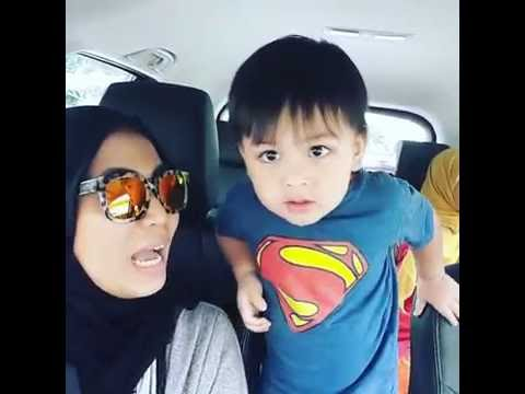 Itsy Bitsy Spider (Malay version) by Aqif Imran feat Aunty Mamal