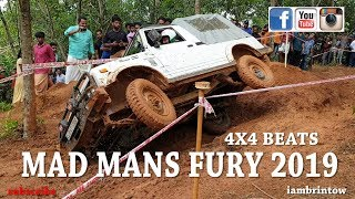 maruti gypsy mahindra thar mm540 willys offroad event   mad mans fury 2019
