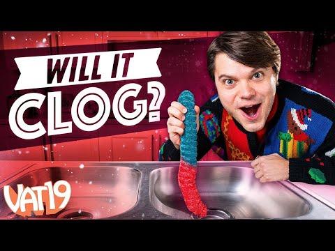 Will it Clog World's Largest Gummy Worm