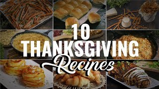 10 Thanksgiving Recipes