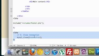 Building a CMS with PHP part 18 - Include / Require