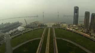 XingHai Square (Biggest square in Asia) - GoPro 3 BE & DJI P2 -  Jeriniaina