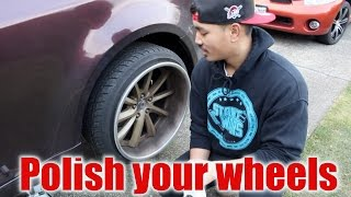 How to POLISH YOUR WHEELS.