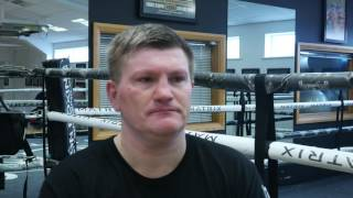 Ricky Hatton Talks About His Fights vs Floyd Mayweather & Manny Pacquiao - Saqib Uddin For EsNews