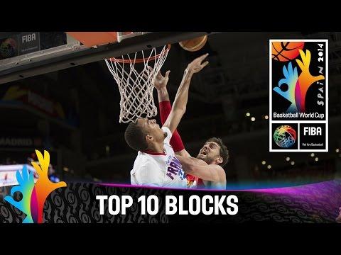 watch Top 10 Blocks - 2014 FIBA Basketball World Cup