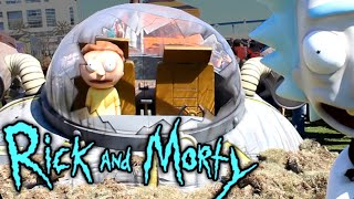 ADULT SWIM CARNIVAL!!! RICK and MORTY - San Diego Comic Con - Day 2