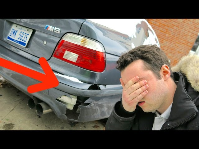 HE WRECKED MY BMW!!!