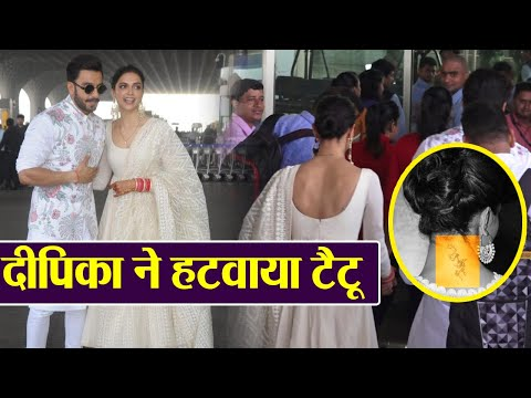 Xxx Mp4 Deepika Padukone REMOVES Ranbir Kapoor S Tattoo From Neck Watch Video Boldsky 3gp Sex
