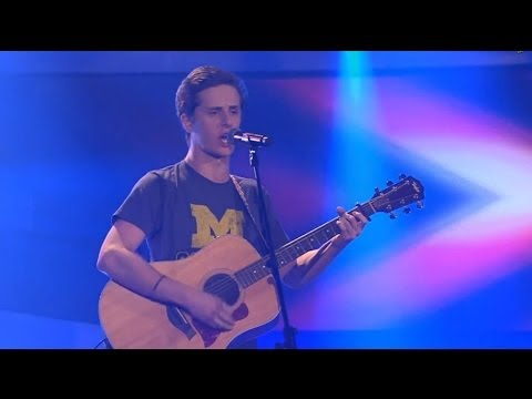 Chris Schummert - Pumped Up Kicks   The Voice of Germany 2013   Blind Audition