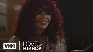 Stevie J and Faith Evans Share A Sweet Moment In The Studio 'Sneak Peek'   Leave It To Stevie