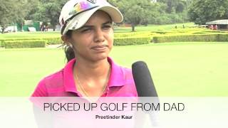 Hero Women's Indian Open featuring Preetinder Kaur