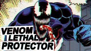 La historia de Venom: Lethal Protector