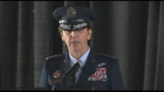 نخستین فرمانده رزمی زن در ارتش آمریکا کار خود را آغاز کرد