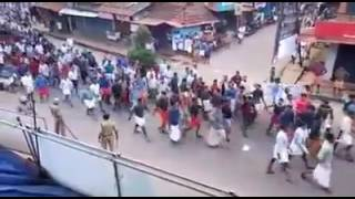 BJP-CPM FIGHT AT BALUSSERY