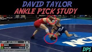 David Taylor Ankle Pick Study