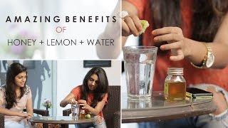 Honey Lemon Water For Glowing Skin & Weight Loss - Glamrs