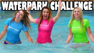Water Park Challenge at Great Wolf Lodge. Totally TV