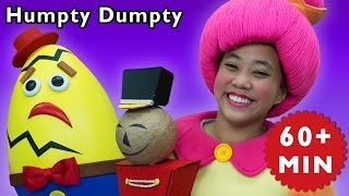 Humpty Dumpty and More | Surprise Egg Has a Great Fall | Baby Songs from Mother Goose Club!