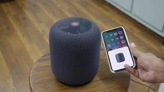 Apple HomePod Smart Speaker Unboxing & Setup