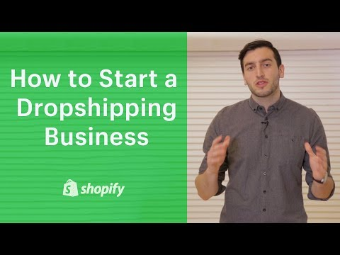 How to Start a Drop Shipping Business