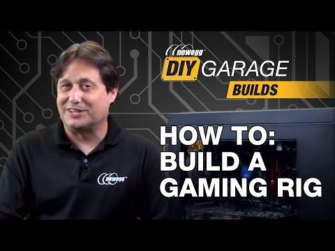 Newegg DIY Garage How to Build a Gaming PC i7 6700 850 EVO & GTX 970