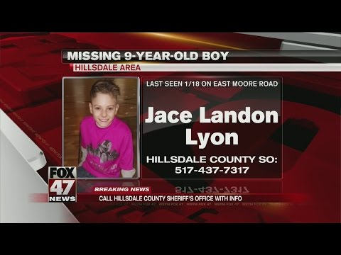 9-year-old missing from Hillsdale County