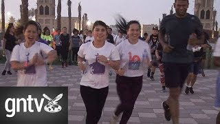 Filipino expats run from mosque to mosque this Ramadan