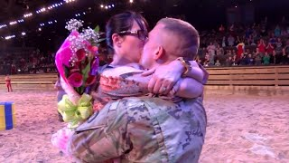 Soldier Surprises Wife at Dolly Parton