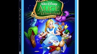 Disney's ''Alice in Wonderland''(1951) 60th Anniversary Bluray Opening Previews (2011)