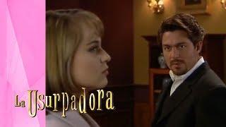 Carlos Daniel reniega de la ayuda de Paulina | La Usurpadora - Televisa