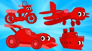Morphle the Motorbike, Airplane, Boat and Race Car For Kids! My Magic Pet Morphle Episodes
