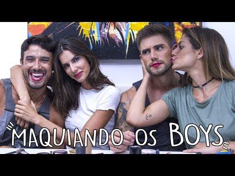 MAQUIANDO OS BOYS l com Mari B1, Jonas, Taty B2 e Lucas