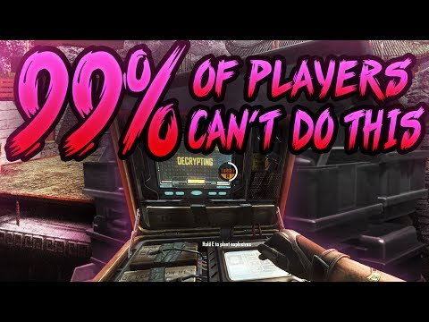 BO3 SnD - 99% of people can't do this!