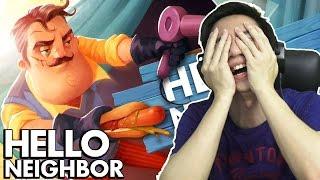 Isi Dibalik Pintu - Hello Neighbor - Indonesia